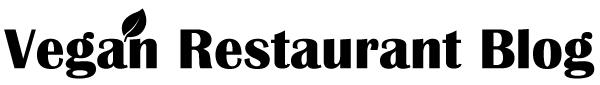 Vegan Restaurant Blog Logo